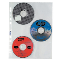 Buste trasparenti portafoto e porta CD-DVD