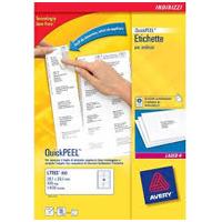 Etichette adesive A4 uso ufficio