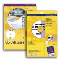 Etichette adesive A4 per CD