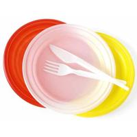 Piatti di plastica e Posate