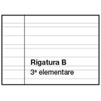 Quaderno A4 righe 3a elem. (B)