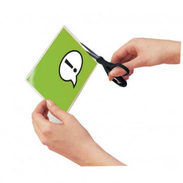 Pouches piccoli formati GBC Luggage card con asola 64x108 mm 3740433 (conf.100)