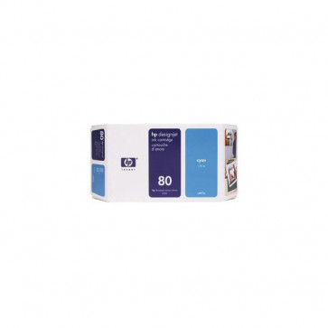 Originale HP C4846A Cartuccia inkjet alta capacità 80 ciano