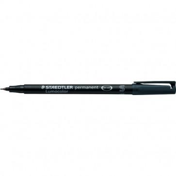 Penna a punta sintetica Lumocolor Permanent Staedtler nero superfine 0,4 mm 313-9