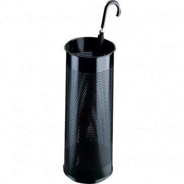 Portaombrelli in metallo traforato Durable nero Ø 26 H 62 cm 3350-01