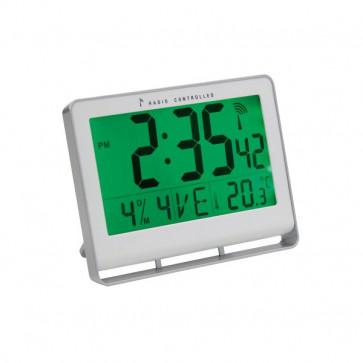 Orologio da parete digitale Alba grigio 20x3x15 cm HORLCDNEO