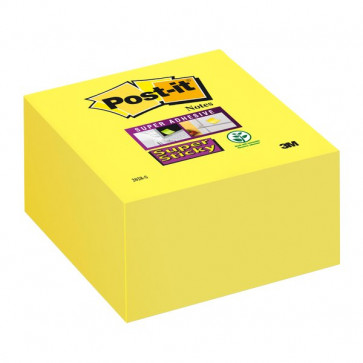 Post-it® Super Sticky Cubo 76x76 mm giallo oro 2028-S