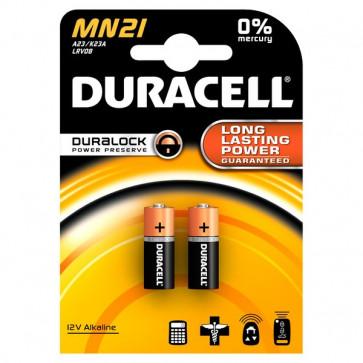 Pile Duracell Specialistiche cilindrica 12 volt MN21/MN21BL2 (conf.2)