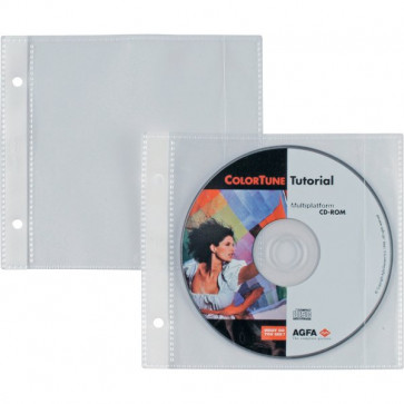 Buste porta CD/DVD per album porta Cd/Dvd Disco 25 Sei Rota 662507 (conf.25)