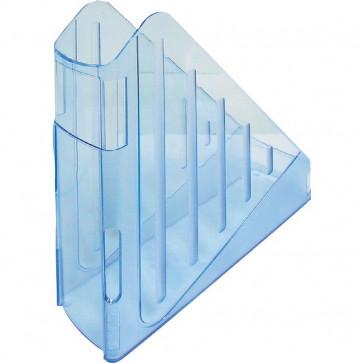 Portariviste con profondità maggiorata Arda azzurro trasp. TR4118BL