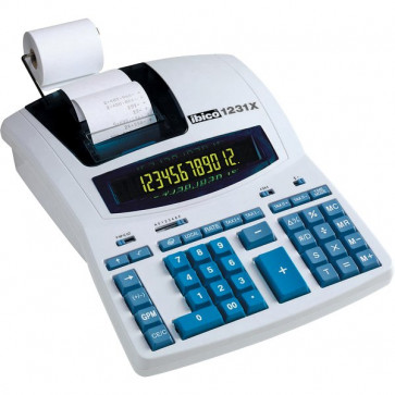 Calcolatrice stampante 1231X Ibico IB404009