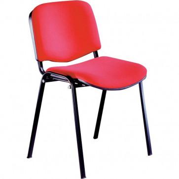 Sedia visitatore Agata Ergosit acrilico rosso D500/4/C2-D5S/4/ER (conf.4)