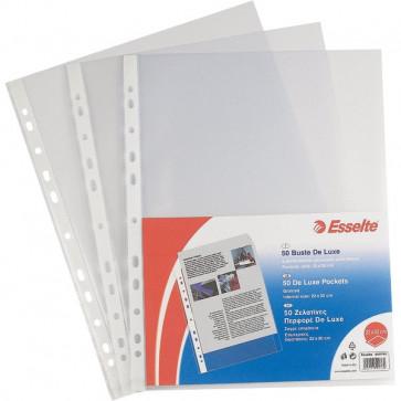 Buste a foratura universale Copy Safe Esselte Office 23x33 cm goffrata 395697200 (conf.100)