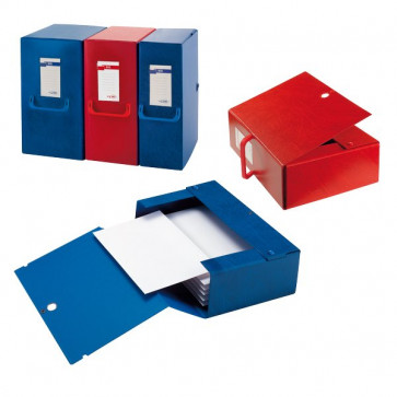 Cartelle portaprogetti Big Sei Rota Dorso 12 25x35 cm blu 68001207