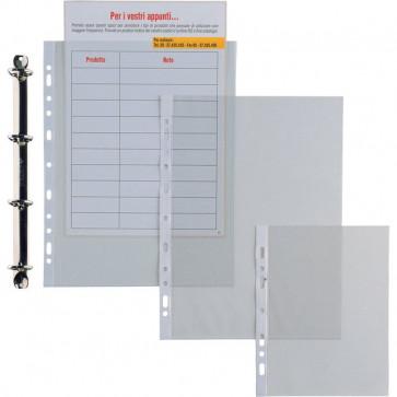 Buste trasparenti Ercole Sei Rota liscia 22x30 cm Spessore 11/100 mm 502230 (conf.25)