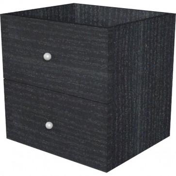 2 cassetti per libreria caselle Maxicube Nero Artexport 32,5x28,8 cm x32,5 cm 2c MaxC/8