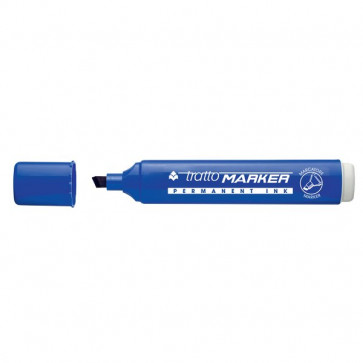 Marcatore Tratto Marker a scalpello blu 1- 5 mm 8402 01 (conf.10)