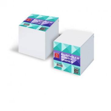 Blocco per appunti Kublocco 9x9x9 cm Pigna con fogli bianchi staccabili bianco - 073653800