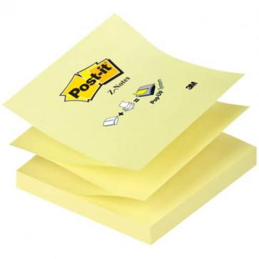 Foglietti riposizionabili classici Post-it Ricarica Z-Notes Giallo Canary? blocchetto da 100 ff - R330