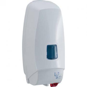 Distrib. elettronico detergenti liquidi cm 12,5x13x27,5 QTS in ABS capacit? 1000 ml bianco 5008B/TOE