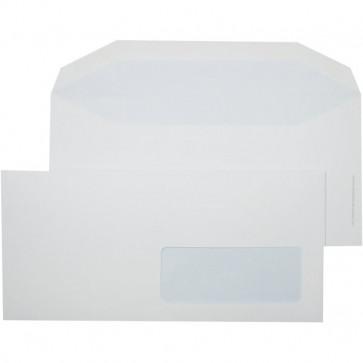 Buste comm. Pigna taglio dritto senza finestra gommata 11x23 cm 70 g/mq 575 (conf.500)