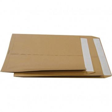 Buste a sacco avana con soffietti Pigna soffietti su 2 lati 25x35 cm 120 g/mq 0099083 (conf.250)