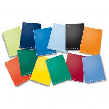 Quaderno MONOCROMO Pigna A4 40+R 5 mm (Quadretti) 02217795M