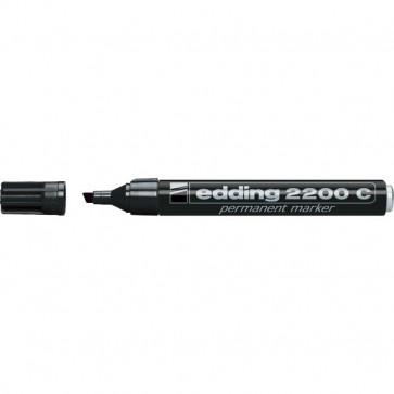 Marcatore permanente 2200C Edding a scalpello nero 1-5 mm 2200C 001