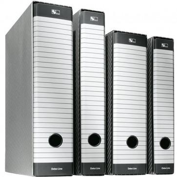 Registratori Delsoline Esselte Commerciale f.to utile 23x30 cm 5 cm bianco/grigio 390712060