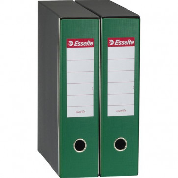 Registratori Eurofile Esselte Commerciale dorso 5 F.to utile 23x30 cm verde 390752180
