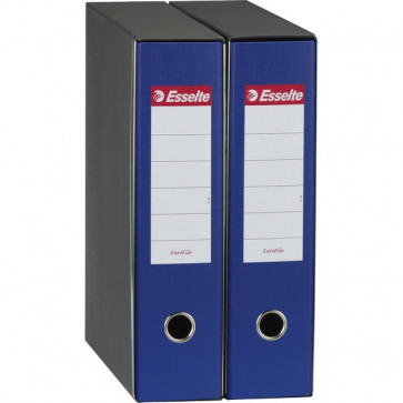 Registratori Eurofile Esselte Commerciale dorso 8 F.to utile 23x30 cm blu 390753050