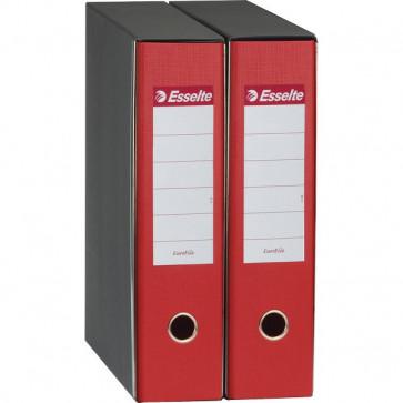 Registratori Eurofile Esselte Commerciale dorso 8 F.to utile 23x30 cm rosso 390753160