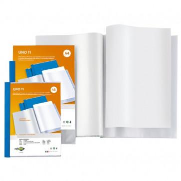 Portalistini personalizzabili Uno TI Sei Rota 15x21 cm 120 buste blu 55159907