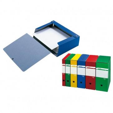 Cartelle portaprogetti Spazio Sei Rota Dorso 10 25x35 cm blu 67891007