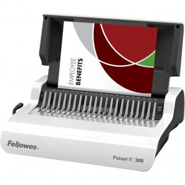 Rilegatrice a dorso plastico Pulsar E300 300 fogli -Fellowes 5620701 (pz.1)