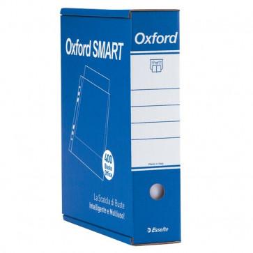 Busta a perforazione universale Esselte Office lucida 4 pack x100 -34,5x8x28,7 391098100 (conf.400)