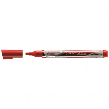 Marcatore Velleda liquido pocket Bic Pocket rosso 4,2 mm 902089