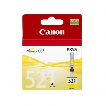Originale Canon 2936B008 Serbatoio inchiostro blister security Chromalife 100+ CLI-521 Y giallo