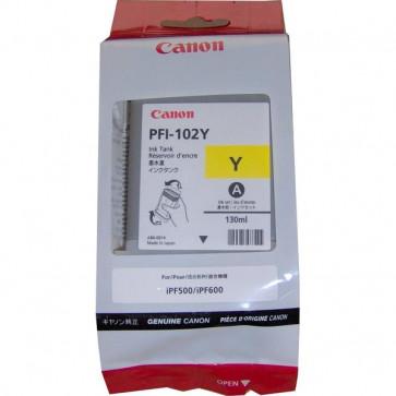 Originale Canon 0898B001AA Serbatoio inchiostro PFI-102Y giallo