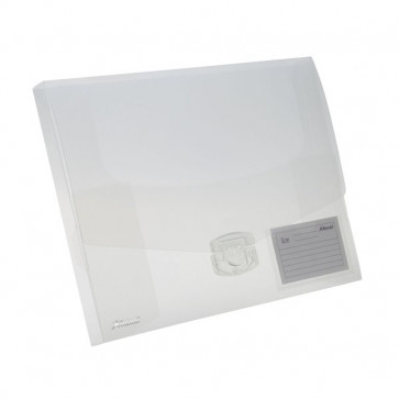 Scatola portadocumenti Ice A4+ Rexel trasparente 2102027