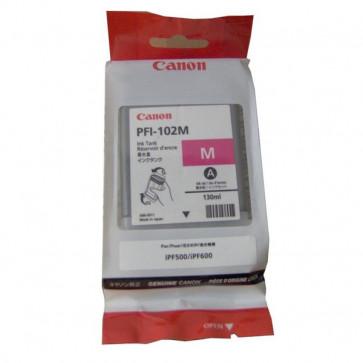 Originale Canon 0897B001AA Serbatoio inchiostro PFI-102M magenta