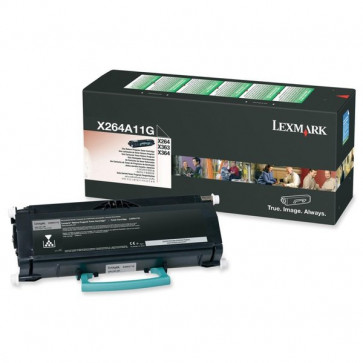 Originale Lexmark X264A11G Toner return program nero