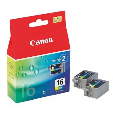 Originale Canon 9818A002 Conf. 2 serbatoi inchiostro BCI-16 3 colori
