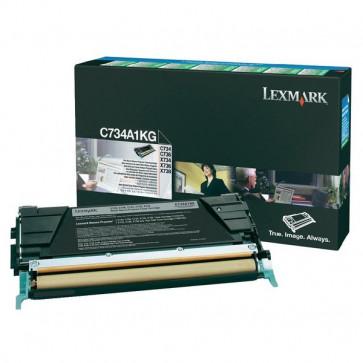 Originale Lexmark C734A1KG Toner return program nero