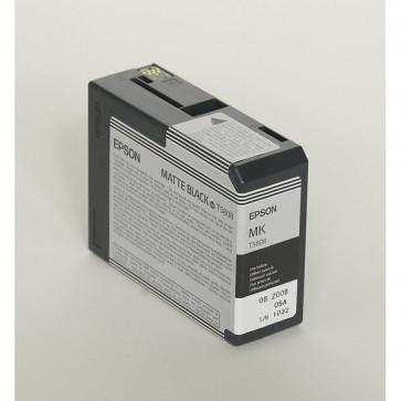 Originale Epson C13T580800 Cartuccia inkjet ink pigmentato ULTRACHROME K3 T5808 nero opaco