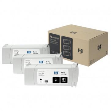 Originale HP C5066A Conf. 3 cartucce inkjet dye 81 nero