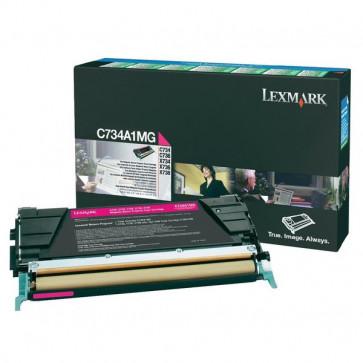 Originale Lexmark C734A1MG Toner return program magenta