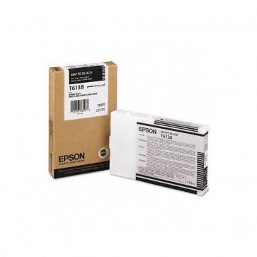 Originale Epson C13T613800 Cartuccia inkjet ink pigmentato ULTRACHROME T6138 nero opaco