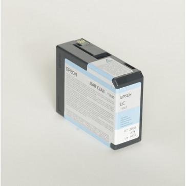 Originale Epson C13T580500 Cartuccia inkjet ink pigmentato ULTRACHROME K3 T5805 ciano chiaro