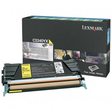 Originale Lexmark C5340YX Toner return program giallo